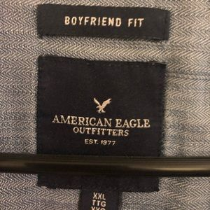 American Eagle Outfitters Tops - AEO Boyfriend Fit Denim Shirt